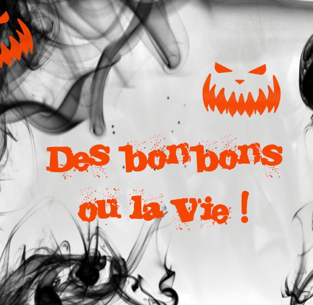 bonbonnière halloween